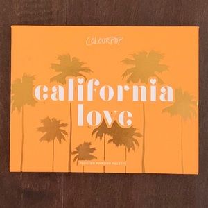 EUC Colourpop California Love Palette